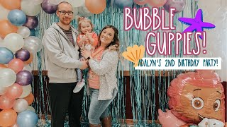 BUBBLE GUPPIES THEMED BIRTHDAY! Adalyns 2nd Birthday Party