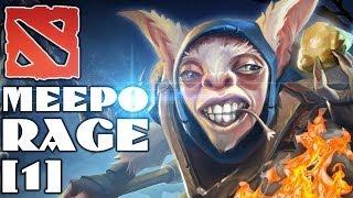 Dota 2 Meepo Rage #1 - Мипо уничтожает паблик! xD
