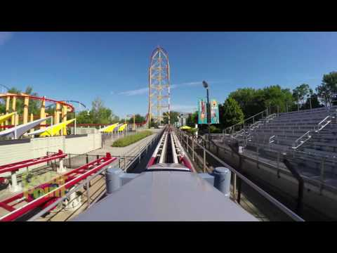 Top Thrill Dragster - Official POV