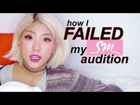 (Story) How I failed my Kpop SM Audition omg - kpop audition experience