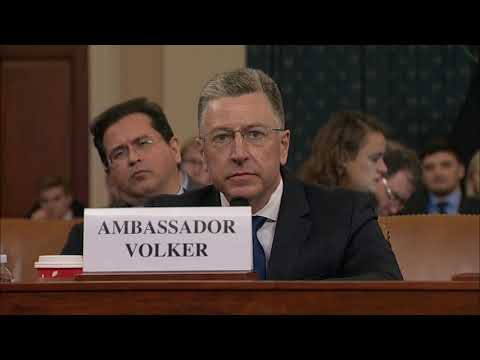 WATCH: Volker testifies he didn't see Ukraine investigations as a 'pay up' for U.S. aid