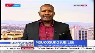 Msukosuko waendelea katika chama cha Jubilee