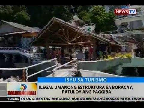 [GMA] BT: Ilegal umanong estruktura sa Boracay, patuloy ang paggiba