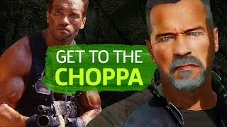 Mortal Kombat 11: Arnold Schwarzenegger Movie References