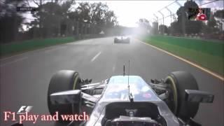 Смотреть онлайн Авария на трассе Формулы-1: Алонсо и Гутьеррес