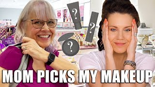 MOM PICKS MY MAKEUP ... OMG 🦄