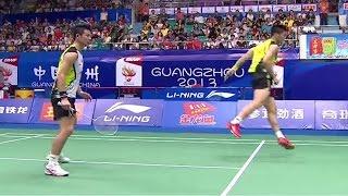 M.Ahsan/H.Setiawan v Cai Y./Fu H.F. |MD-SF|  Wang Lao Ji BWF World Champ. 2013
