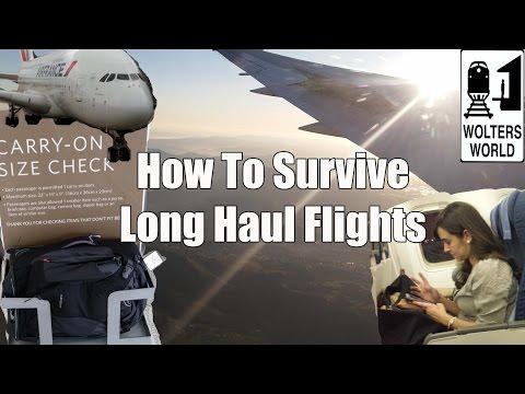 How to Survive Long Haul Flights - Travel Tips, Hacks & Tricks