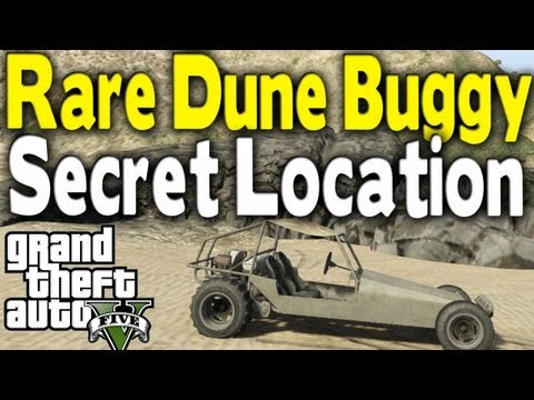 "GTA 5 - RARE ""OFF ROAD"" DUNE BUGGY LOCATION (Rare Car Guide #1) [GTA V]"