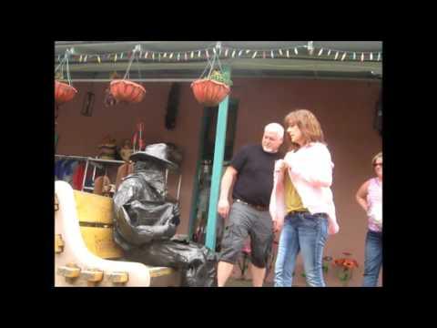 Bronze Cowboy  performance artist 16 (видео)