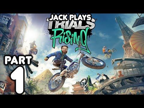 Jack Rising! Jack plays Trials Rising Part 1