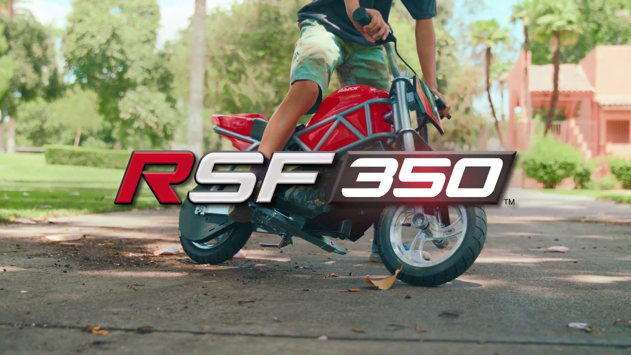 RSF350 Ride Video