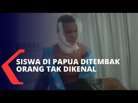 siswa papua ditembak orang tak dikenal tewas dan lainnya alami luka berat