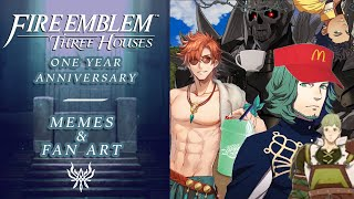 Voice Cast Of Fire Emblem Three Houses Tell Us Their Favorite MEMES & Fan Art   FE3H Anniversary