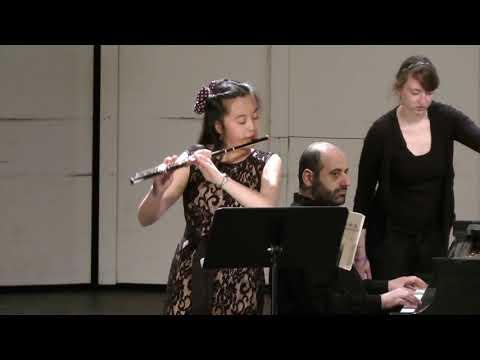 渔舟唱晚 (Fisherman's Song at Eventide) - Jessica Yang, Flute