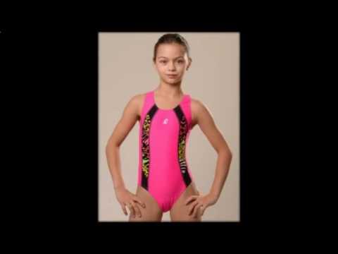 спортивные купальники для гимнастики для девочек  детский купальник