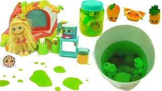 Shopkins Chef Club Season 6 Juicy Smoothie Collection + Juice Cup Blind Bag