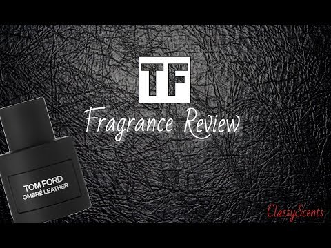 Tom Ford ombré Leather Fragrance Review // New Release