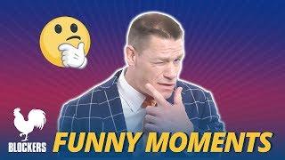 Blockers Cast Bloopers Funny Moments - John Cena (2018)
