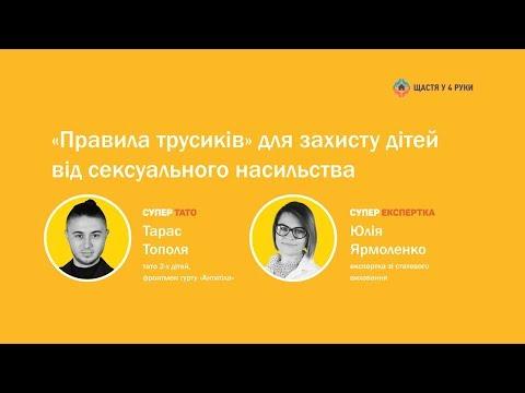 СУПЕРТАТО МОЖЕ / Тарас Тополя – «Правила трусиків» для захисту дітей від сексуального насильства