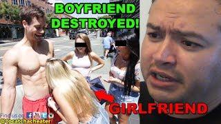 Bodybuilder Steals Fat Guy's Girlfriend! [Connor Murphy]   To Catch a Cheater