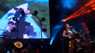 preview picture of video 'Tren del Cielo, Lila Downs, Tequisquiapan 2014'