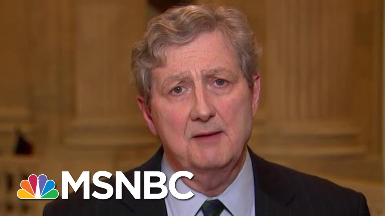 John Kennedy: President Trump Has No 'Right To Influence An Investigation' | MTP Daily | MSNBC thumbnail