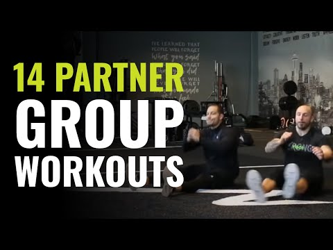 14 Fun Fitness Partner Games For Group Workouts - YouTube