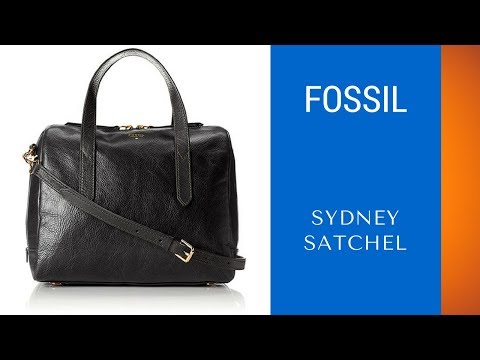 Best Crossbody Leather Satchel – Fossil Sydney Satchel Review