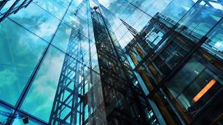 office background video   Corporate building background HD   Glass building   Royalty Free Footages