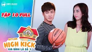 Gia đình là số 1 sitcom | tập 10 full: Thu Trang đánh Gin Tuấn Kiệt vì nghi dẫn bạn gái về nhà