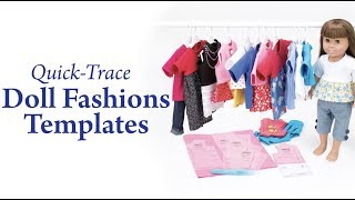 Quick-Trace Doll Fashions Templates