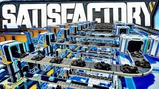 Having 900 Steel Ingot Production is Very Satisfactory | Satisfactory Early Access Gameplay Ep 23
