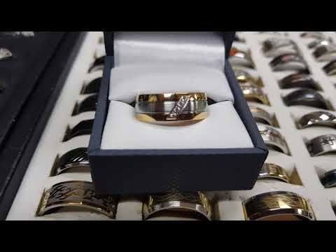 Men's Rings- our 4 gemstone ring review!