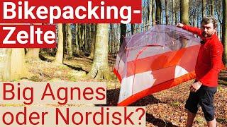 Götz' teure Zelt-Entscheidung: Big Agnes Copper Spur Bikepack oder Nordisk Halland II LW?