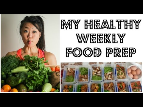 Video MEAL PREP - HOW I PREPARE 11 HEALTHY MEALS FOR THE WEEK | My weekly meal prep | 11 MEALS 17 SNACKS