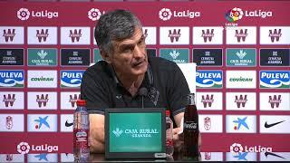 Rueda de prensa Granada CF vs SD Eibar