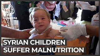 Syria aid distribution: Growing dependence on food assistance