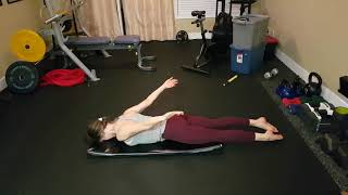 Kamloops Chiropractor | Movement Demo | Prone Swimmer's Hover