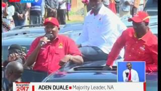 UhuRuto sweep through Nandi County in vote hunt