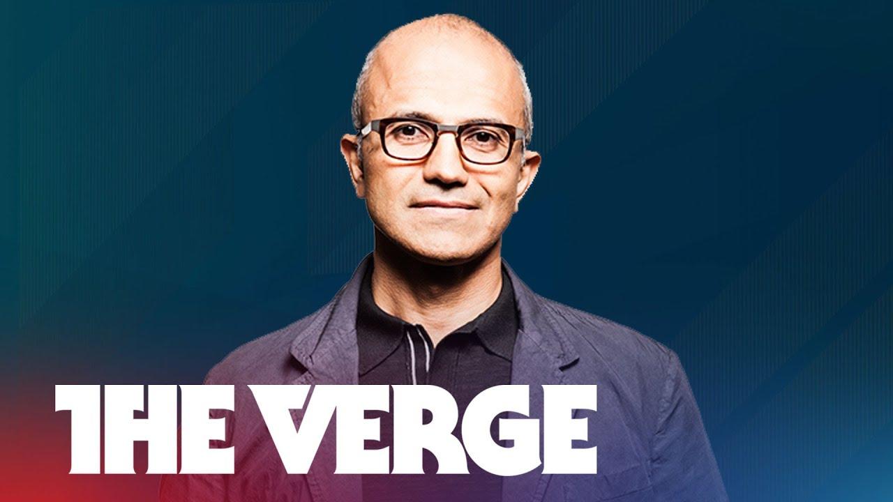 Satya Nadella, Microsoft's new CEO - The Verge Live thumbnail