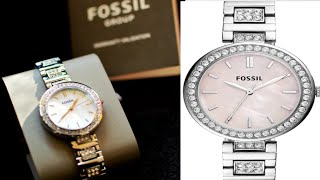 Fossil BQ3182 Karli Analog Watch For Women How To Register Fossil Watches Online