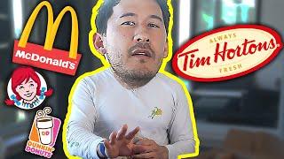 TIM HORTONS vs EVERY AMERICAN FAST FOOD