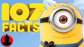 107 Minions Facts YOU Should Know! (ToonedUp #32) @ChannelFred