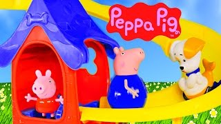 Bubble Guppies Puppy Playhouse Peppa Pig Lookout Tower Elevator Toy Episodes by DCTC