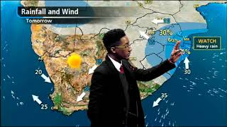 Weather forecast: 15 May 2018