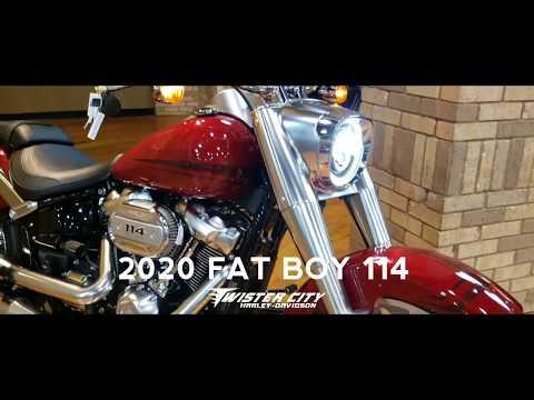 2020 Harley-Davidson® Fat Boy® 114 : FLFBS
