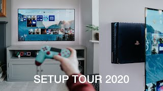 My TV Setup Tour - 4K OLED Living Room