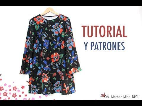 DIY Costura de vestido para embarazadas o no (patrones gratis incluidos)