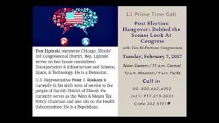 Prime Time Call with Bi Partisan Panel